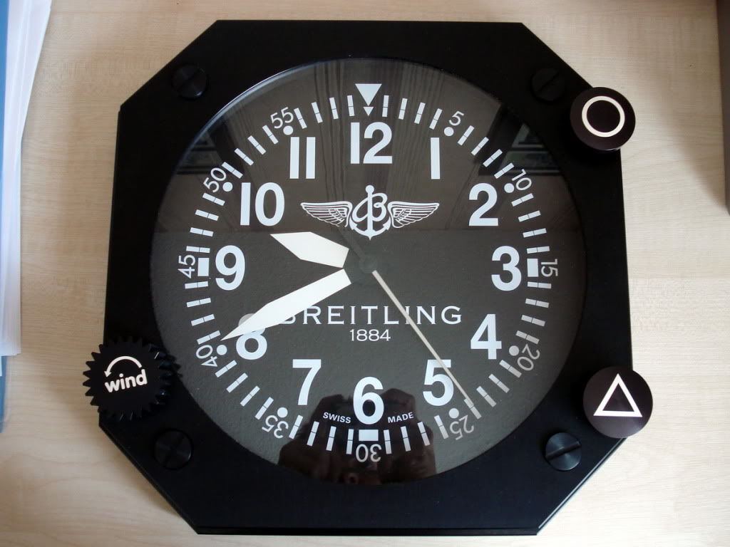 Best replica breitling wall clock in cheap price breitling wall clock replica amipublicfo Choice Image
